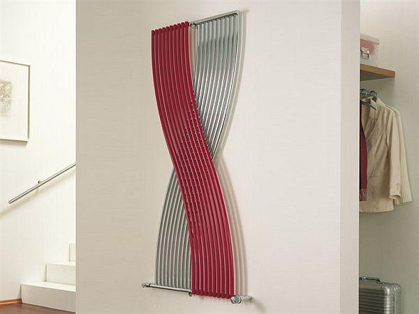 Living space modern radiator minimalistisch wohnbereich