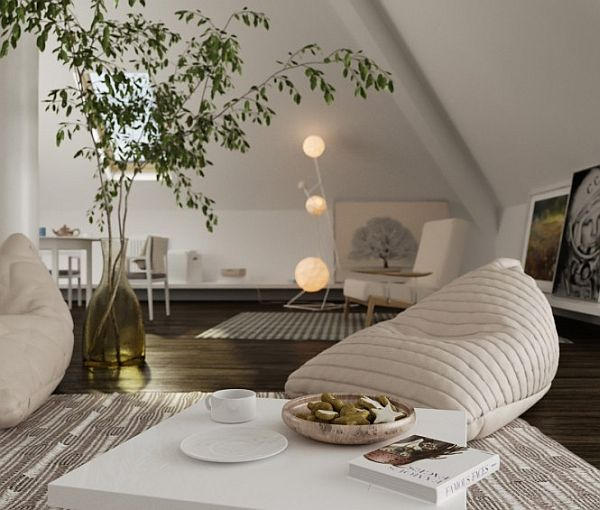 Beautiful Decorated Attic Spaces To Inspire You
