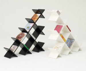 Perfect ... Your Design · Pyramid Bookshelf
