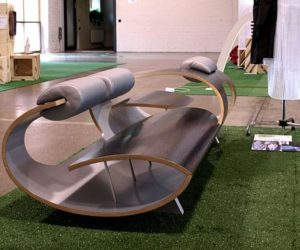 Sleek and Modern Bark Seating Furniture