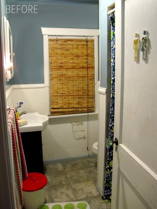 Beforeu0026After Salvage Inspired Bathrooms Makeover