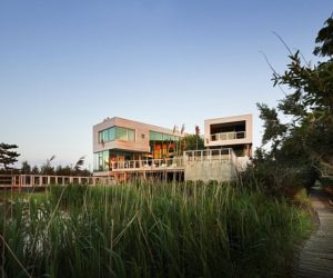 A Contemporary House Located in Long Island, New York