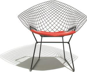 The creative Bertoia diamond chair