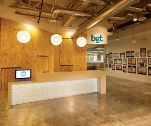 Creative and interactive space for BGT Partners Headquarters