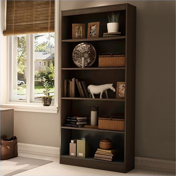 The South Shore Axess Wood Bookcase