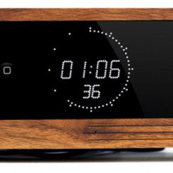 5 Creative Wooden Alarm Clock IPhone Docks
