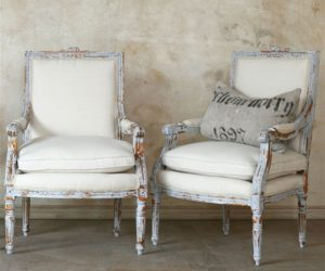 Classic Louis XVI Dining Chair · The Unique Louis XVI Gustavian Grey Chair  Set