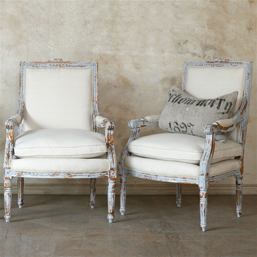 the unique louis xvi gustavian grey chair set. Black Bedroom Furniture Sets. Home Design Ideas