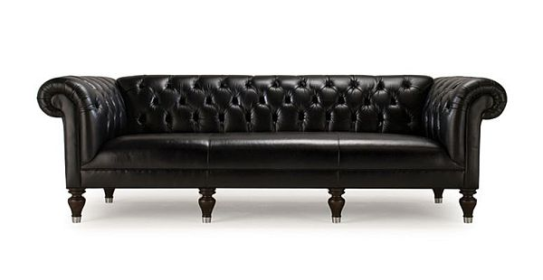 The Elegant Chester 100 Leather Sofa