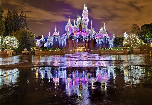 The magic of Christmas at Disneyland