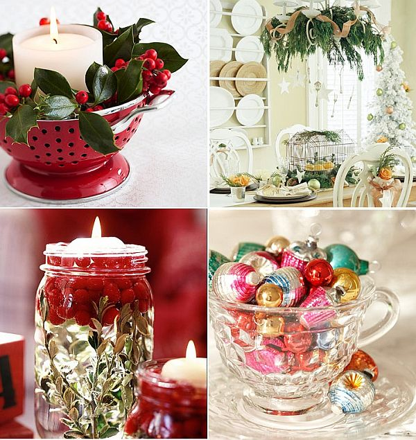 . 24 Christmas decoration with kitchen items