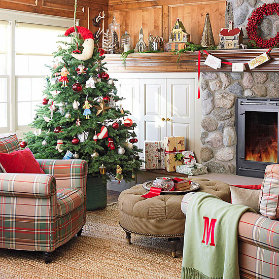 view in gallery - How To Decorate Living Room For Christmas