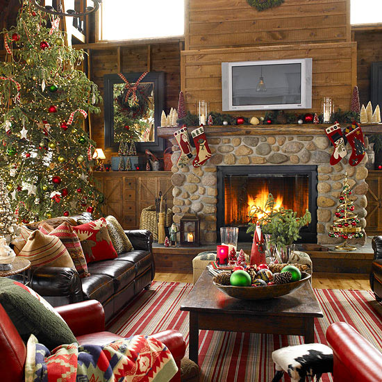 original christmas tree decorating ideas view in gallery view in gallery - How To Decorate A Small Living Room For Christmas