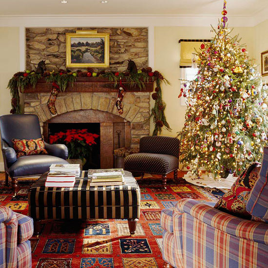 Home Design Ideas Youtube: 25 Christmas Living Room Design Ideas