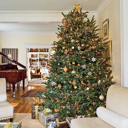 Get your home into a holiday spirit 5 best tips for christmas House beautiful christmas trees