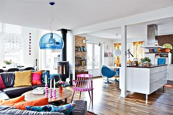 Colorful Nordic Interior Décor