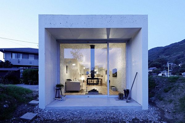 Long Narrow House contemporary long narrow residence called myz nest house  in japan