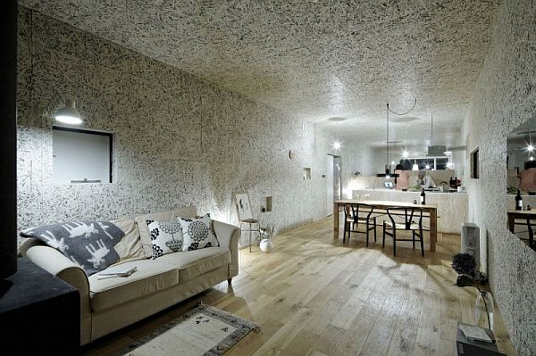 Contemporary Long Narrow Residence Called Myz Nest House
