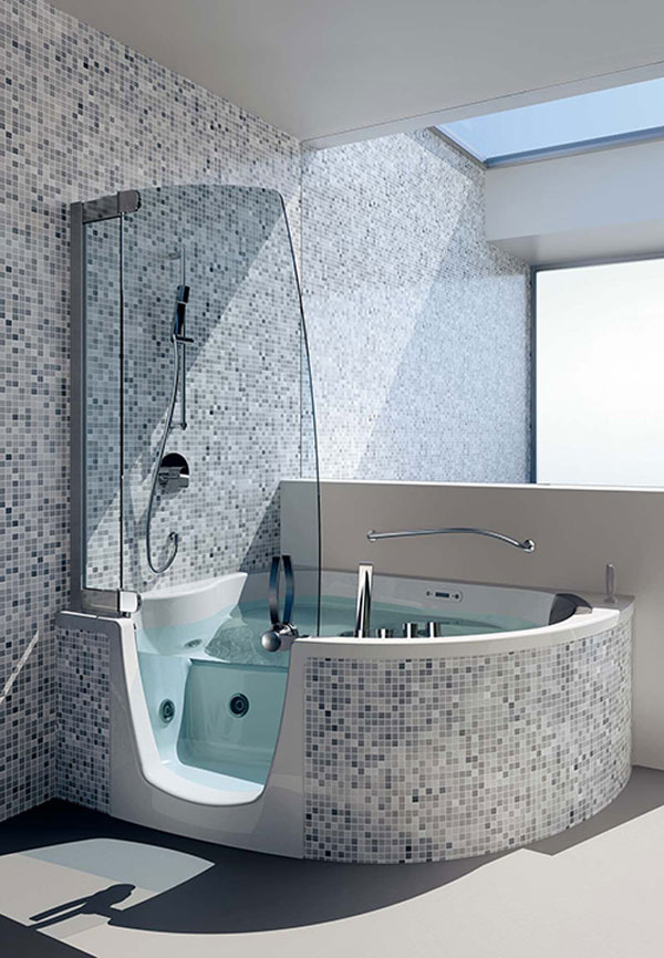 Good Latest Corner Bathtubs Designed By Teuco Nice Look