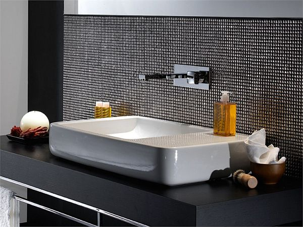 Unik Glamour Washbasin from Lasaidea   View in gallery. The Soft washbasin by Studio 63