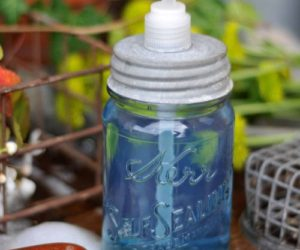 DIY Soap Dispensers Made Of Everyday Objects