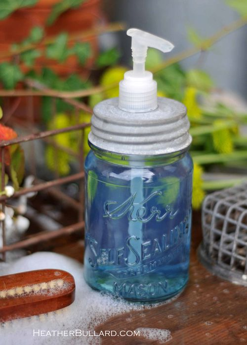 diy-soap-jar-dispenser