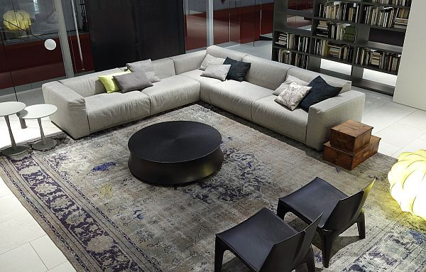 The Elegant Bolton Sectional Sofa By Giuseppe Vigano : sleek sectional sofa - Sectionals, Sofas & Couches