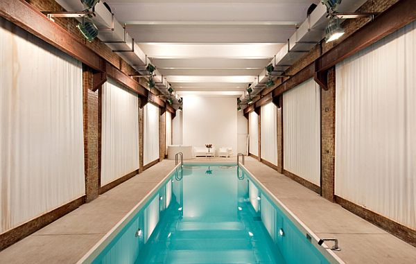 Contemporary Soho residence with indoor pool now for 100000 a month