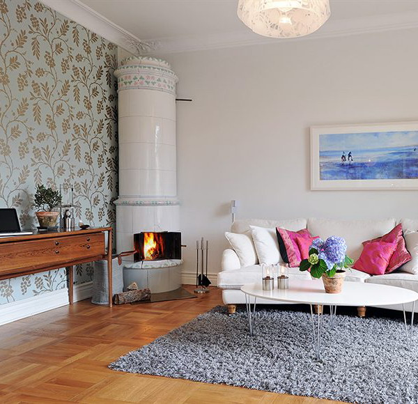Gorgeous Ways To Incorporate Scandinavian Designs Into: The Beauty Of Swedish Fireplaces