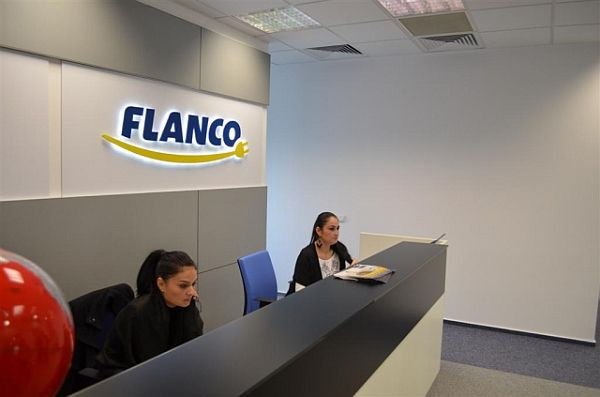 The New Flanco Headquarters in Bucharest