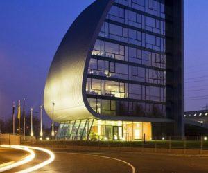 Impressive Hungarian Autoklub Headquarters
