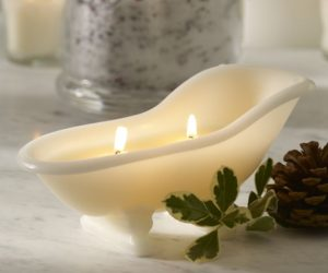 Bathtub Candle