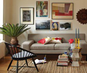 Modern Windsor Accent Chair