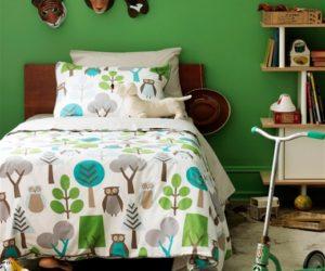 Beautiful DwellStudiou0027s Kids Bedding Owls Sky Duvet Set