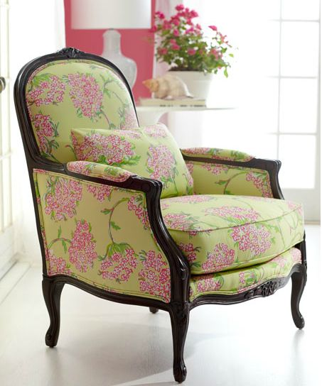 Lauren Chair With A Beautiful Floral Print