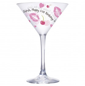 Personalised Cocktail Glasses