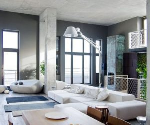 Spacious Loft Apartment in Kiev