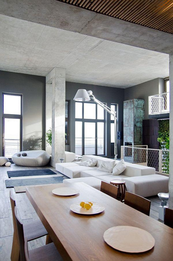 Spacious Loft Apartment in Kiev
