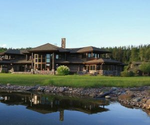 Five-bedroom, five-bath residence near Whitefish Lake for sale