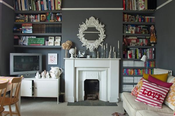 Beautiful london interior design house for Interior design london