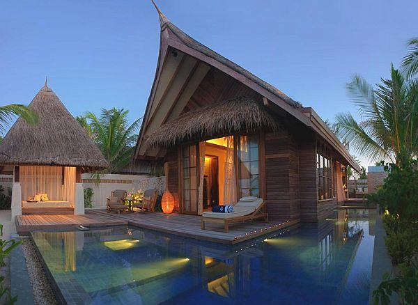 Maldives Island Hut Kitchen