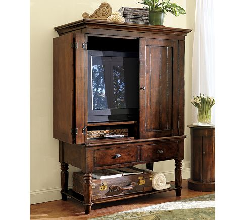 The rustic Mason media armoire