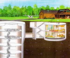Adirondack State Park Missile Silo Cabin