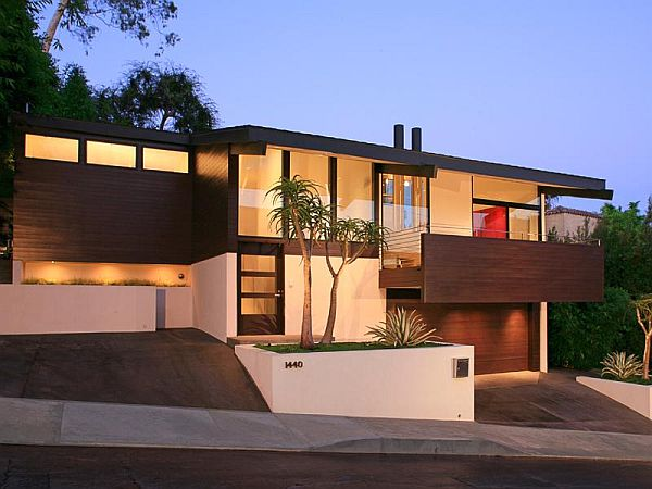 Modern los angeles single family home for Home designers los angeles