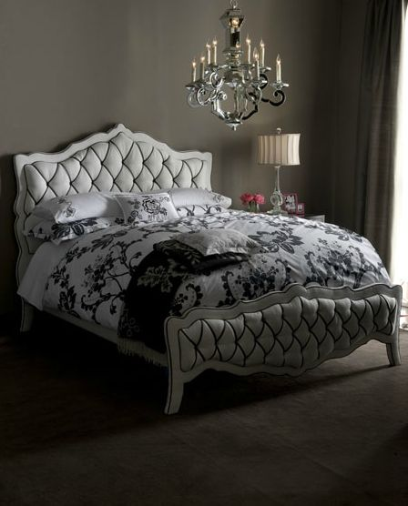 The Luxury Monique Bed And Nightstand Collection Awesome Ideas