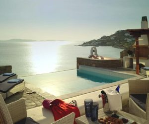 The Luxurious Mykonos Grand Beach Resort in Greece