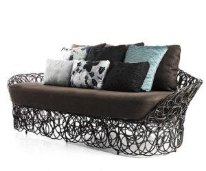 The Stylish And Comfortable Mazy Armchair · The Noodle Sofa By Kenneth  Cobonpue