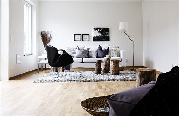 Bright Apartment With A Nordic Interior Design