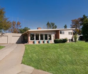 Stylish tri-level residence in S. Dahlia Lane for sale