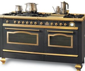 The ELG348 double oven